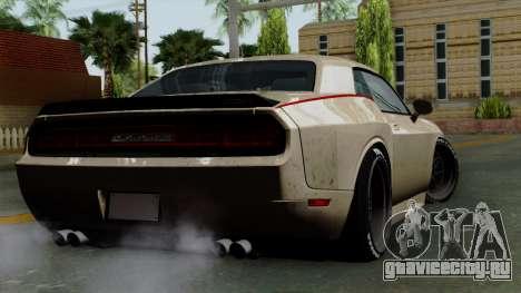 Dodge Challenger GT S для GTA San Andreas вид слева
