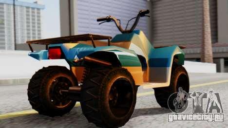 New Quad для GTA San Andreas вид слева