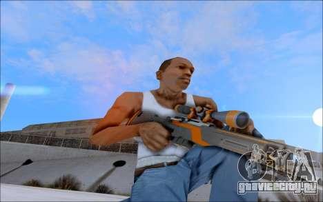 AWP Carbone Edition для GTA San Andreas четвёртый скриншот
