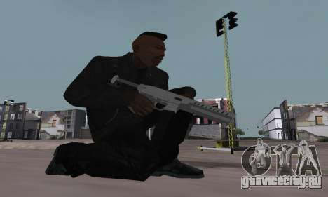 Combat PDW from GTA 5 для GTA San Andreas третий скриншот