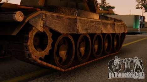T-55AM Merida для GTA San Andreas вид сзади слева