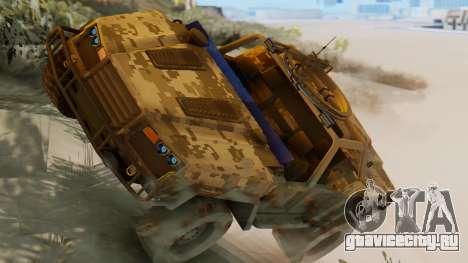 SOC-T from CoD Black Ops 2 для GTA San Andreas
