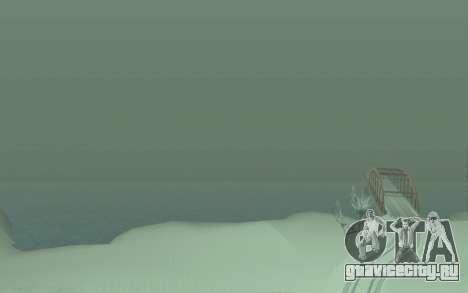 Зимний Timecyc для GTA San Andreas пятый скриншот