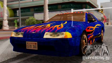 Elegy First Vinyl MQ для GTA San Andreas