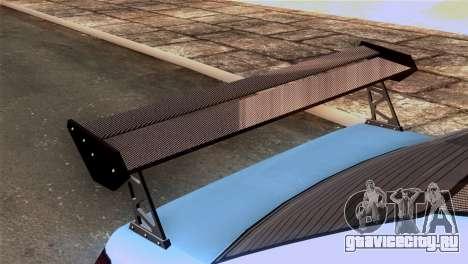 GTA 5 Declasse Asea IVF для GTA San Andreas вид сзади