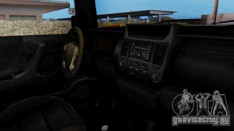 GTA 5 Patriot для GTA San Andreas вид справа