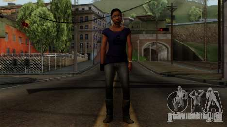 Rochelle New Textures для GTA San Andreas второй скриншот