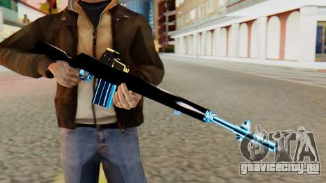 Fulmicotone Rifle для GTA San Andreas третий скриншот