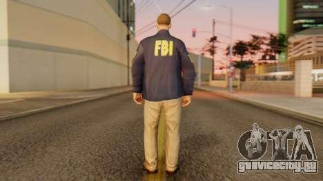 FBI Skin для GTA San Andreas третий скриншот