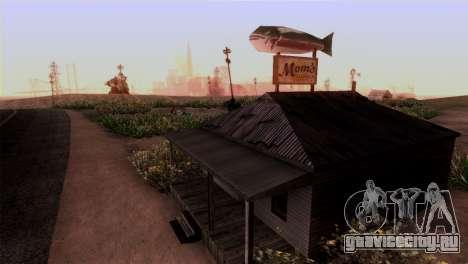 Дамба Шермана для GTA San Andreas третий скриншот