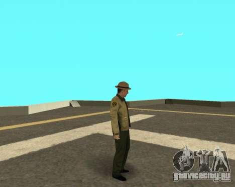 Новый скин для копов из ЛВПД для GTA San Andreas третий скриншот