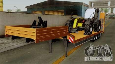 Trailer Fliegl Cargo для GTA San Andreas