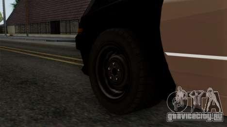 GTA 5 LS Police Car для GTA San Andreas вид сзади слева