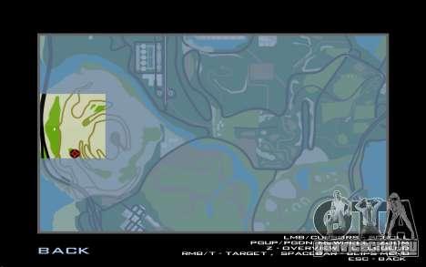 Водопад v0.1 Beta для GTA San Andreas шестой скриншот