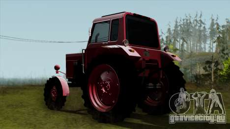Трактор MTZ80 для GTA San Andreas вид слева