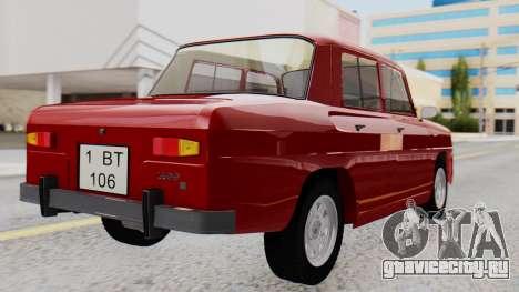 Dacia 1100 Sport для GTA San Andreas вид слева