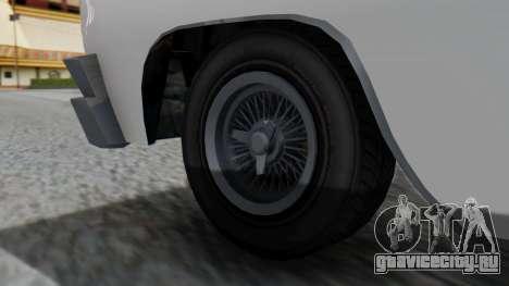 GTA 5 Declasse Voodoo для GTA San Andreas вид сзади слева
