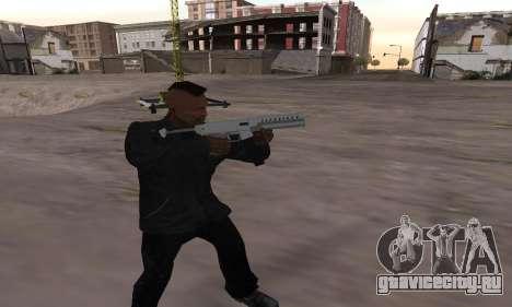 Combat PDW from GTA 5 для GTA San Andreas второй скриншот