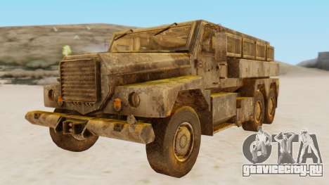 MRAP Cougar from CoD Black Ops 2 для GTA San Andreas