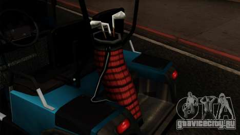 E-Z-GO Golf Cart v1.1 для GTA San Andreas вид сзади