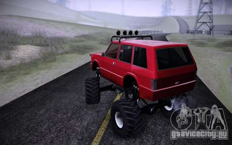 Huntley Monster v3.0 для GTA San Andreas вид слева