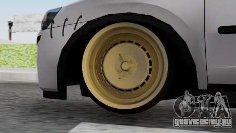 Opel Corsa Air для GTA San Andreas вид сзади слева