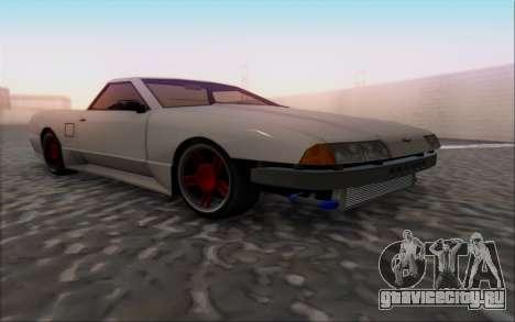 Elegy Pickup By Next для GTA San Andreas вид справа