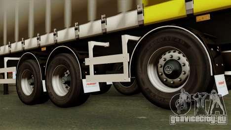 Trailer 15 meters для GTA San Andreas вид сзади слева
