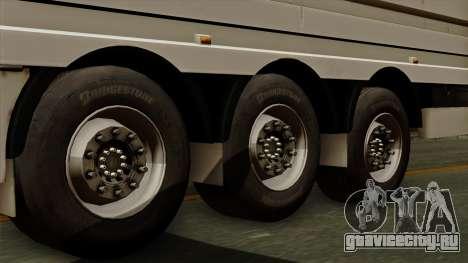Trailer Aria для GTA San Andreas вид сзади слева
