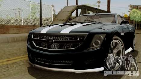 GTA 5 Albany Alpha v2 IVF для GTA San Andreas
