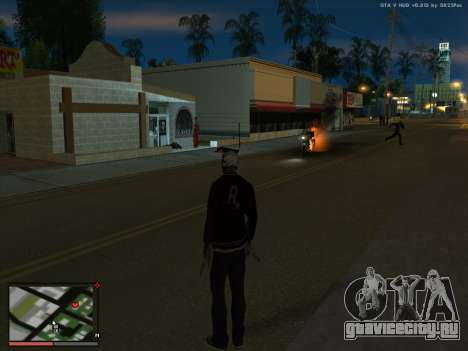 Безумие в штате San Andreas. Beta. для GTA San Andreas третий скриншот