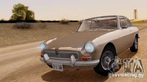 MGB GT (ADO23) 1965 HQLM для GTA San Andreas вид сзади слева