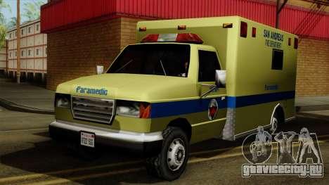SAFD SAX Rescue Ambulance для GTA San Andreas