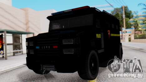 GTA 5 Enforcer Indonesian Police Type 1 для GTA San Andreas