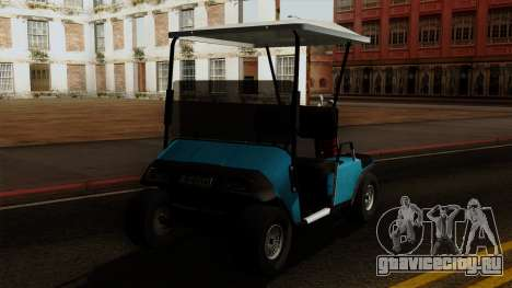 E-Z-GO Golf Cart v1.1 для GTA San Andreas