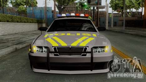 Indonesian Police Type 1 для GTA San Andreas вид сверху