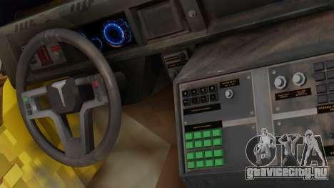 SOC-T from CoD Black Ops 2 для GTA San Andreas вид сзади слева