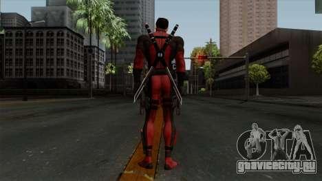 Deadpool without Mask для GTA San Andreas третий скриншот