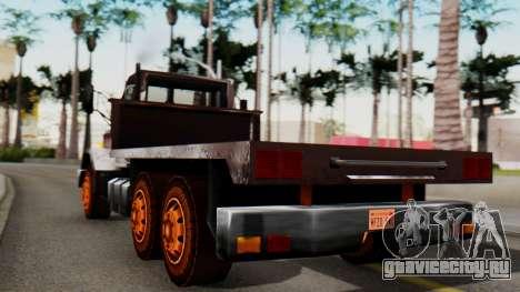 Flatbed 1.0 для GTA San Andreas вид слева