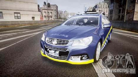 Holden VF Commodore SS Highway Patrol [ELS] v2.0 для GTA 4