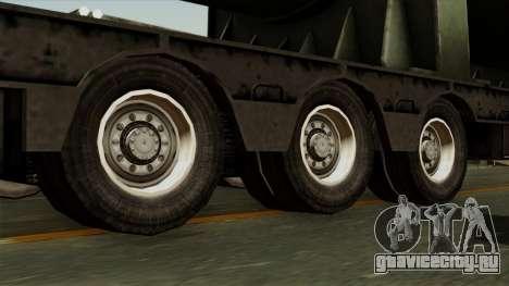 Trailer Cargos ETS2 New v3 для GTA San Andreas вид сзади слева