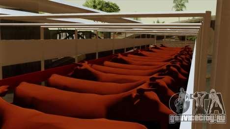 Trailer Cows для GTA San Andreas вид изнутри