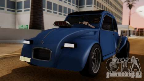Citroen 2CV (jian) Drag Style Edition для GTA San Andreas