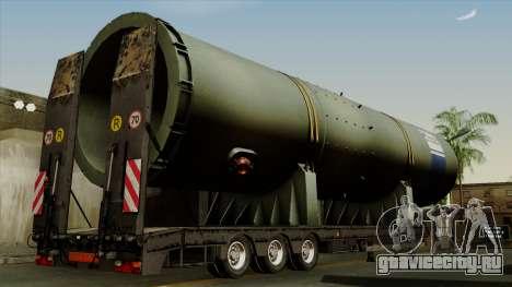 Trailer Cargos ETS2 New v3 для GTA San Andreas вид слева