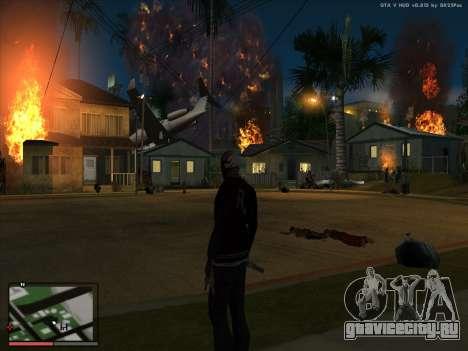 Безумие в штате San Andreas. Beta. для GTA San Andreas четвёртый скриншот