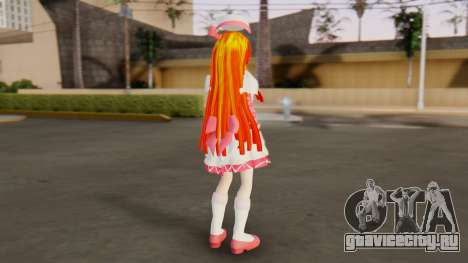 Nadja [Ashita no Nadja] для GTA San Andreas третий скриншот