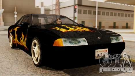 Винил для Elegy - Пламя для GTA San Andreas