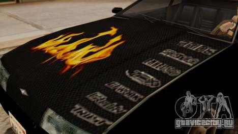 Винил для Elegy - Пламя для GTA San Andreas вид справа