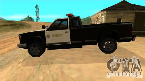 New Yosemite Police v2 для GTA San Andreas салон