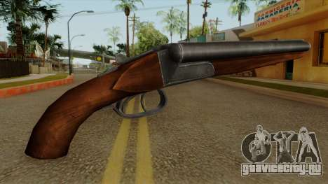Original HD Sawnoff Shotgun для GTA San Andreas второй скриншот